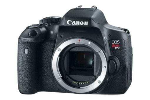 eos rebel t6i dslr camera 3q d 510x340 - Canon EOS Rebel T6i EF-S 18-55mm IS STM Lens Kit
