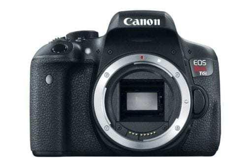eos rebel t6i dslr camera front d 510x340 - Canon EOS Rebel T6i EF-S 18-55mm IS STM Lens Kit