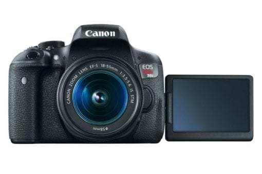 eos rebel t6i dslr camera front open d 510x340 - Canon EOS Rebel T6i EF-S 18-55mm IS STM Lens Kit