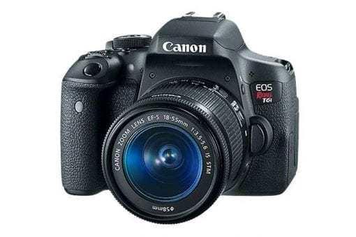 t6i 3q 675x450 510x340 - Canon EOS Rebel T6i EF-S 18-55mm IS STM Lens Kit