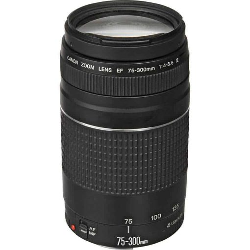 Canon EF 75 300mm f 4 5 6 III Lens 1 510x510 - Canon EF 75-300mm f/4-5.6 III Telephoto Zoom Lens for Canon SLR Cameras