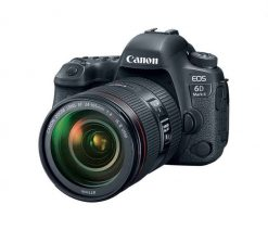 Canon EOS 6D Mark II DSLR Camera with EF 24 105mm 1a 1 247x212 - Canon 26.2 EOS 6D Mark II EF 24-105mm USM Kit with 3 LCD