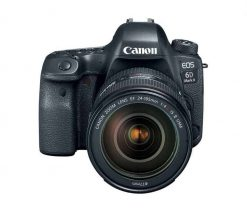 Canon EOS 6D Mark II DSLR Camera with EF 24 105mm 2a 1 247x212 - Canon 26.2 EOS 6D Mark II EF 24-105mm USM Kit with 3 LCD