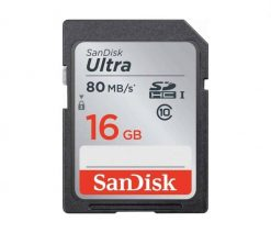SanDisk 16GB Ultra UHS I SDHC 80 1 247x212 - SanDisk 16GB Ultra UHS-I SDHC 80 MB/s Memory Card (Class 10)