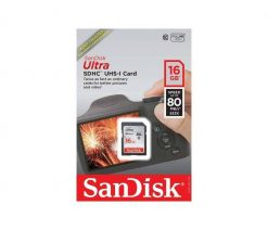 SanDisk 16GB Ultra UHS I SDHC 80 11 247x212 - SanDisk 16GB Ultra UHS-I SDHC 80 MB/s Memory Card (Class 10)