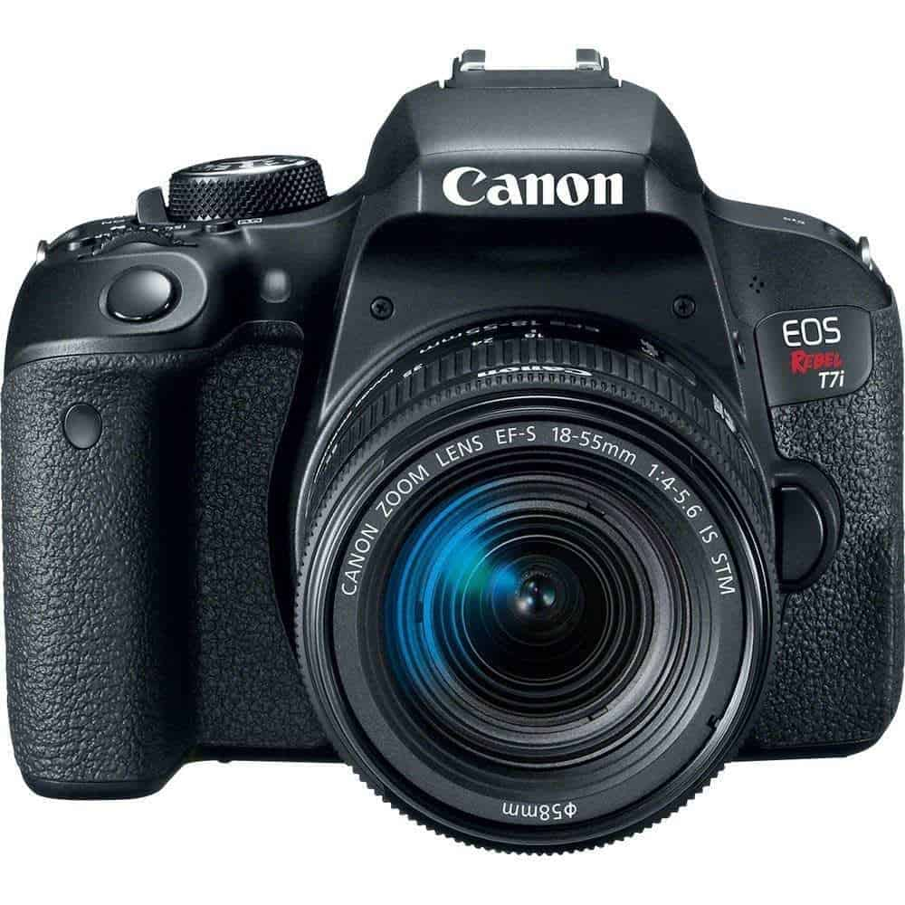 anon EOS Rebel T7i DSLR Camera with 18 55mm Lens 4 - Cart
