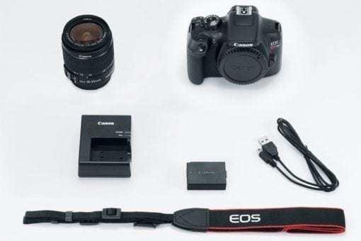 eos rebel t6 kit 675x450 510x340 - Canon EOS Rebel T6 Digital SLR Camera + 18-55mm EF-S f/3.5-5.6 IS II Lens