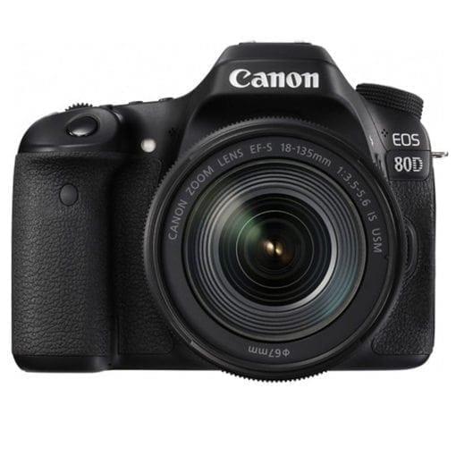 092148e7 f7c7 4af0 bc15 5e61fa28b247 510x510 - Canon EOS 80D Video Creator Kit with EF-S 18-135mm 1:3.5-5.6 IS USM Lens, Black (1263C103)