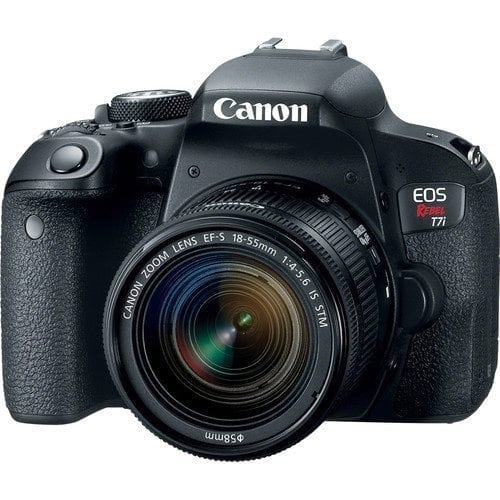 341d0cc7 954f 424a b2e0 08d4497529c1 - Canon EOS Rebel T7i 24.2MP DSLR Camera with 18-55mm Lens Video Creator Kit