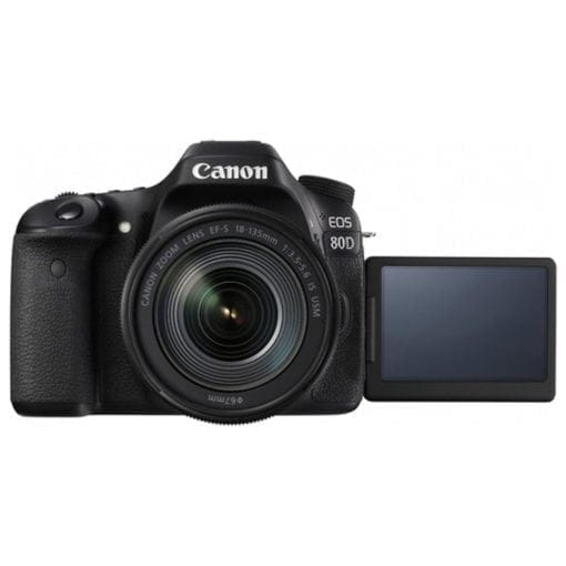 54004d80 b54f 4982 927b 257354558cfd 510x510 - Canon EOS 80D Video Creator Kit with EF-S 18-135mm 1:3.5-5.6 IS USM Lens, Black (1263C103)