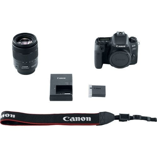 7c6739dc d454 4c64 9c02 3098cdfca4ee - Canon EOS 77D 24.2MP Digital SLR Camera + 18-135mm USM Lens with Built-In Wi-Fi