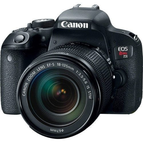 7f483fdd 8bbb 4173 80ec 1d11c6083a3d - Canon EOS Rebel T7i 24.2MP Digital SLR Camera with 18-135mm Lens