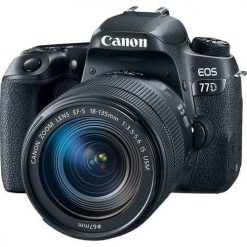 8c9e1869 1c00 46c6 ab2f 833200999d74 247x247 - Canon EOS 77D 24.2MP Digital SLR Camera + 18-135mm USM Lens with Built-In Wi-Fi