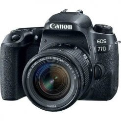 8eb00915 2e23 416d 91c7 e24d481ef71a 247x247 - New Canon EOS 77D 24.2 MP Digital SLR Camera + 18-55mm Lens with Built-In Wi-Fi