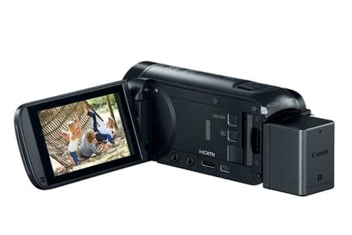 VIXIA HF R800 BLACK EVFOPEN 675x450 510x340 - Canon VIXIA HF R800 Camcorder (Black)
