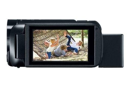 VIXIA HF R800 BLACK SIDELCD 675x450 510x340 - Canon VIXIA HF R800 Camcorder (Black)