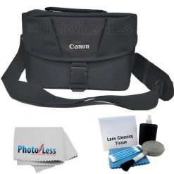 0505933c adc6 4c8d b7e0 a943ab02ead1 247x247 - Canon Genuine Padded Starter Digital SLR Camera Lens Shoulder Bag Case Gadget EOS + Cleaning Cloth and Camera & Lens 5 Piece Cleaning Kit