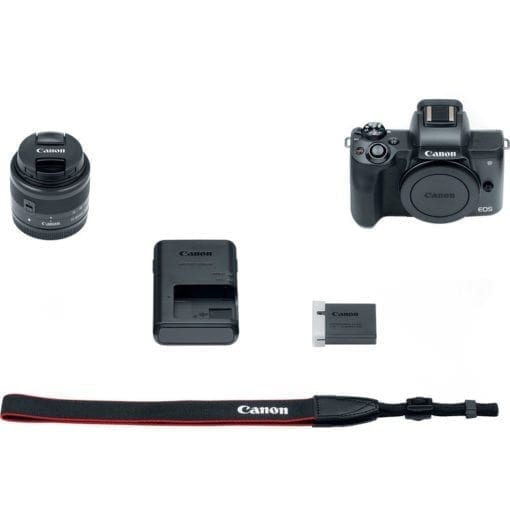 266474a2 e76c 49ea 88af 455993c9a847 510x510 - Canon EOS M50 Mirrorless Camera Kit w/ EF-M15-45mm Lens and 4K Video (Black)