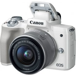 Canon EOS M50 Mirrorless Digital Camera with 15 45mm Lens White 02 247x247 - Canon EOS M50 Mirrorless Camera Kit w/ EF-M15-45mm Lens and 4K Video (White)