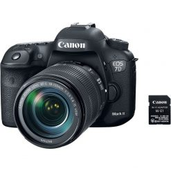 Canon EOS 7D Mark II DSLR Camera with 18 135mm f 3.5 5.6 IS USM Lens W E1 Wi Fi Adapter 01 247x247 - Canon EOS 7D Mark II Digital SLR Camera with EF-S 18-135mm IS USM Lens Wi-Fi Adapter Kit