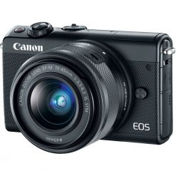 Canon EOS M100 Mirrorless Digital Camera with 15 45mm Lens Black 01 247x247 - Canon EOS M100 Mirrorless Digital Camera with 15-45mm Lens (Black)