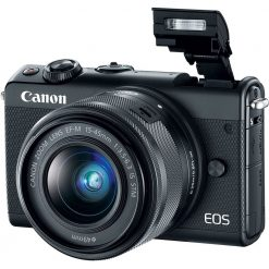 Canon EOS M100 Mirrorless Digital Camera with 15 45mm Lens Black 02 247x247 - Canon EOS M100 Mirrorless Digital Camera with 15-45mm Lens (Black)