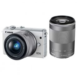 Canon EOS M100 Mirrorless Digital Camera with 15 45mm and 55 200mm Lenses White 01 247x247 - Canon EOS M100 Mirrorless Digital Camera with 15-45mm and 55-200mm Lenses (White)