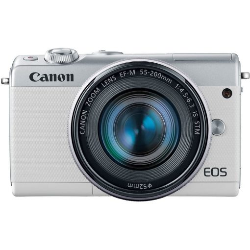 Canon EOS M100 Mirrorless Digital Camera with 15 45mm and 55 200mm Lenses White 011 510x510 - Canon EOS M100 Mirrorless Digital Camera with 15-45mm and 55-200mm Lenses (White)