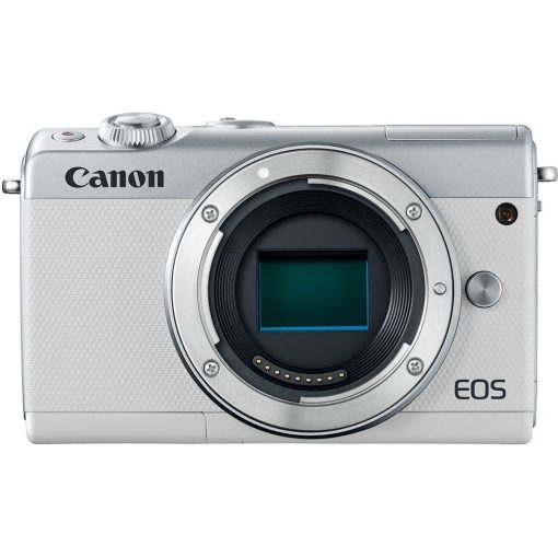 Canon EOS M100 Mirrorless Digital Camera with 15 45mm and 55 200mm Lenses White 012 510x510 - Canon EOS M100 Mirrorless Digital Camera with 15-45mm and 55-200mm Lenses (White)