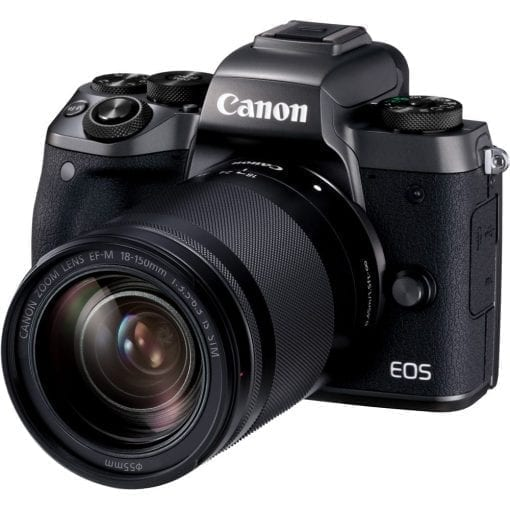 Canon EOS M5 Mirrorless Digital Camera with 18 150mm Lens 01 510x510 - Canon EOS M5 EF-M 18-150mm f/3.5-6.3 IS STM Lens Kit