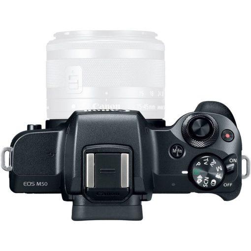 Canon EOS M50 Mirrorless Digital Camera Body Only Black 03 510x510 - Canon EOS M50 Mirrorless Camera Body w/ 4K Video (Black)