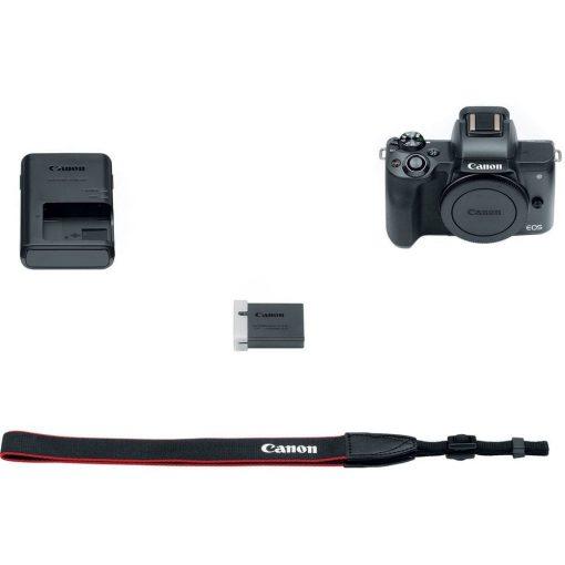 Canon EOS M50 Mirrorless Digital Camera Body Only Black 04 510x510 - Canon EOS M50 Mirrorless Camera Body w/ 4K Video (Black)