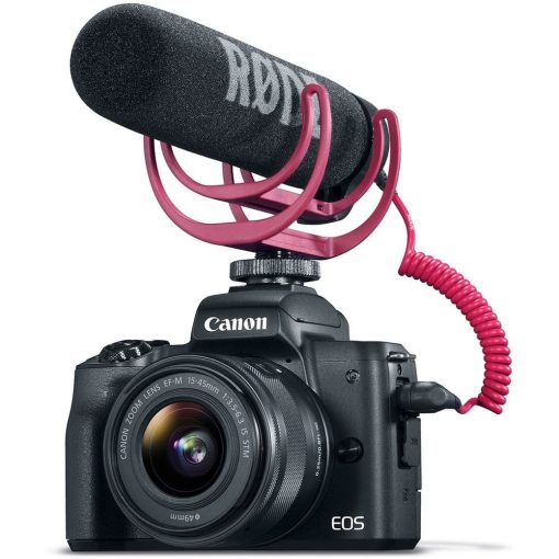 Canon EOS M50 Mirrorless Digital Camera with 15 45mm Lens Video Creator Kit Black 01 510x510 - Canon EOS M50 Video Creator Kit with EF-M15-45mm Lens, 4K Video Capture, Rode VIDEOMIC GO, and 32GB Sandisk Memory Card (Black)