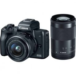 Canon EOS M50 Mirrorless Digital Camera with 15 45mm and 55 200mm Lenses Black 01 247x247 - Home Page