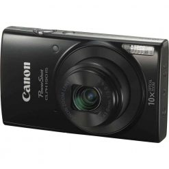 Canon PowerShot ELPH 190 IS Digital Camera Black 01 247x247 - Canon PowerShot ELPH 190 IS with 10x Optical Zoom and Built-In Wi-Fi (Black)