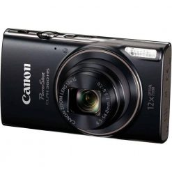 Canon PowerShot ELPH 360 HS Digital Camera Black 01 247x247 - Canon PowerShot ELPH 360 HS with 12x Optical Zoom and Built-In Wi-Fi (Black)