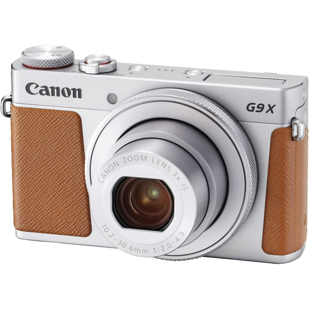 Canon PowerShot G9 X Mark II Digital Camera Silver 01 - Home Page