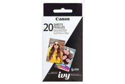 675x450 20 Sheets IVY ZINK Photo Paper 1 xl 247x165 - Canon EOS Rebel T6 SLR Camera 18-55mm + 32GB + Dummies Book - Bundle